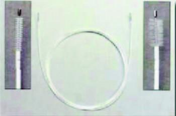 Ecouvillon flexible pour endoscope